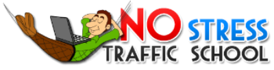 No Stress Traffic School logo