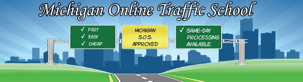 Michigan Basic Driver Improvement banner